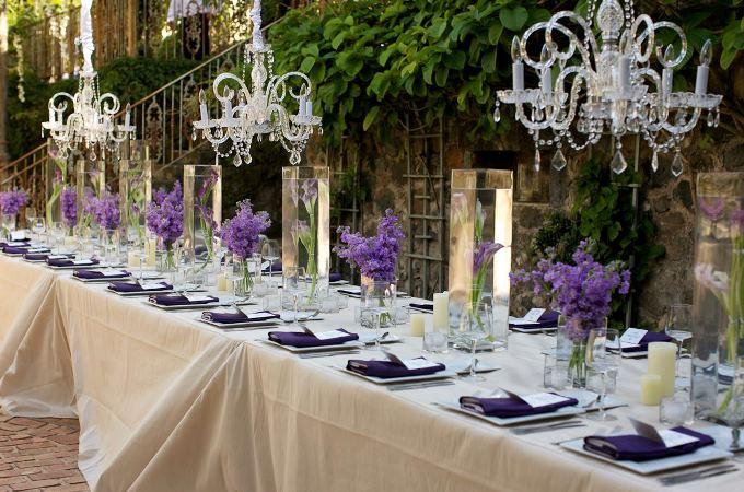 5 трендов оформления столов на свадьбе