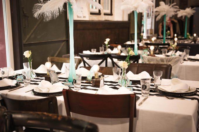 Минимализм в декоре столов