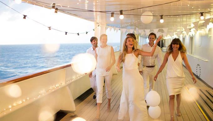 Свадьба в круизе