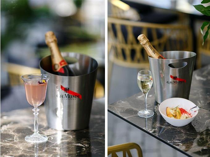 Лето с шампанским Mumm в ресторане DOM N10
