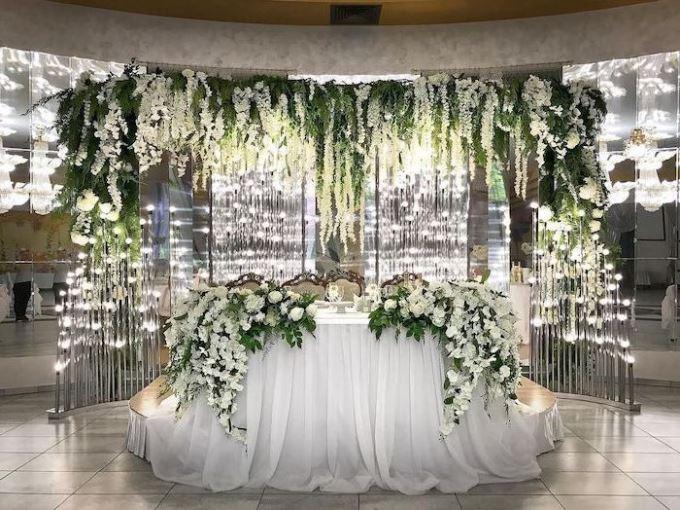 Ткань в декоре свадьбы