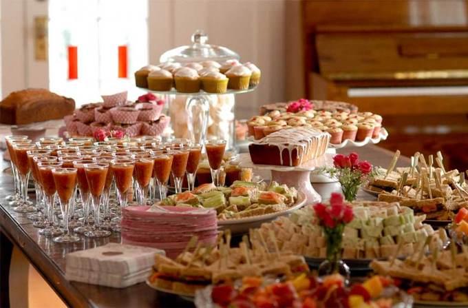 Food-бар на весіллі
