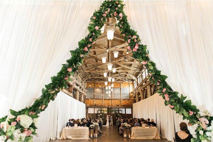 Уникальная свадьба