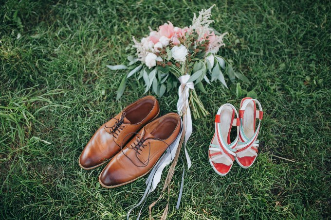 Креативне взуття -як весільний аксессуар