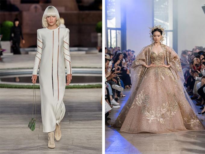 Свадебное платье в коллекции Fendi_Elie и Saab