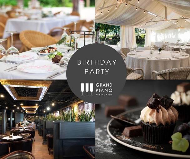 Grand Piano Restaurant пропонує вам неочікувані і дуже приємні подарунки до Дня Народження