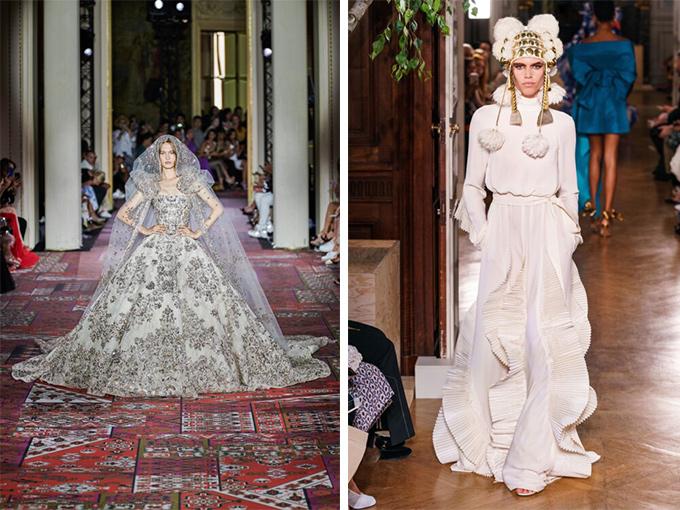 Свадебное платье в коллекции Valentino и Zuhair-Murad
