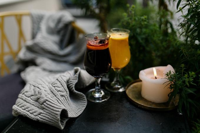 Новые глинтвейны и теплые напитки в DOM №10