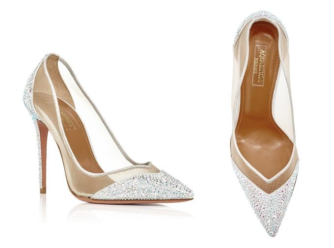 Весільні туфлі Aquazzura