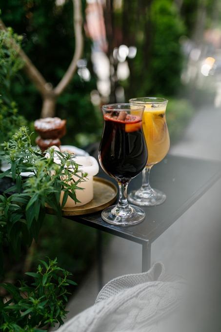 Горячие осенние напитки в DOM N10