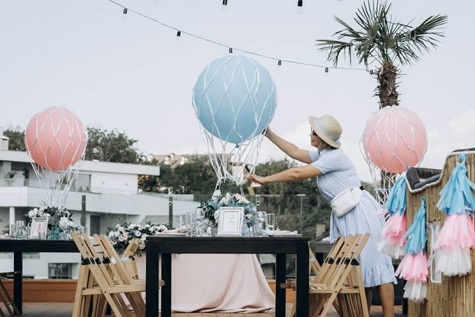 Оформлення весілля на даху