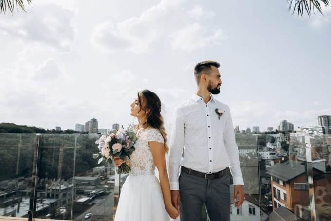 Формат свадьбы - свадьба на крыше