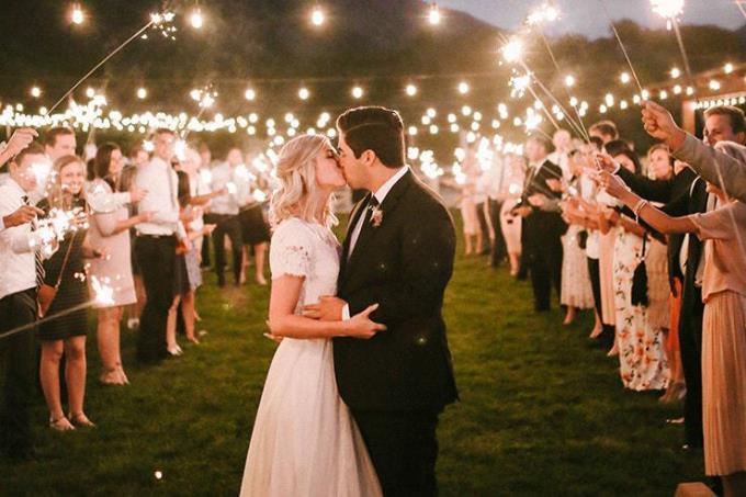 Финальный аккорд - красивый финал свадьбы