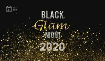 Новогодний гала ужин в Воздвиженском Black Glam Night 2020
