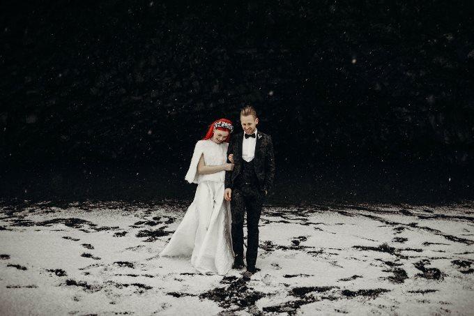 Ефектні сукні для зимового весілля