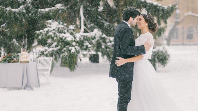 Зимові тренди весільного декору