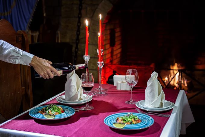 День святого Валентина в замке Фортеця Гетьмана