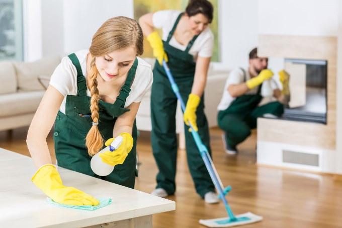 Как правильно убирать в квартире