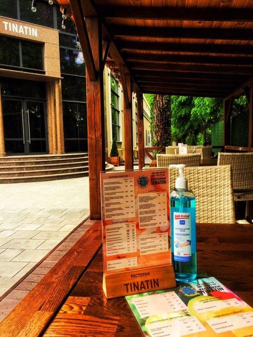 """Ресторан """"TINATIN"""" готов встречать Вас на летней террасе"""