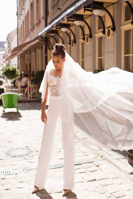 Тренды свадебных платьев 2020