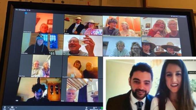 Онлайн свадьба