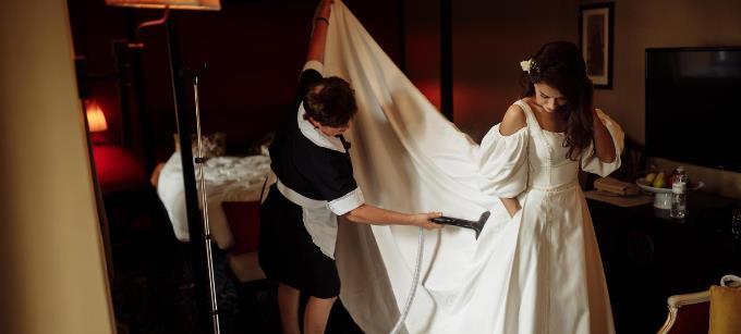 Волшебное утро невесты в бутик-отеле Воздвиженский