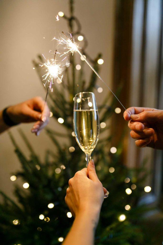 Новогодние праздники в ресторане DOM №10