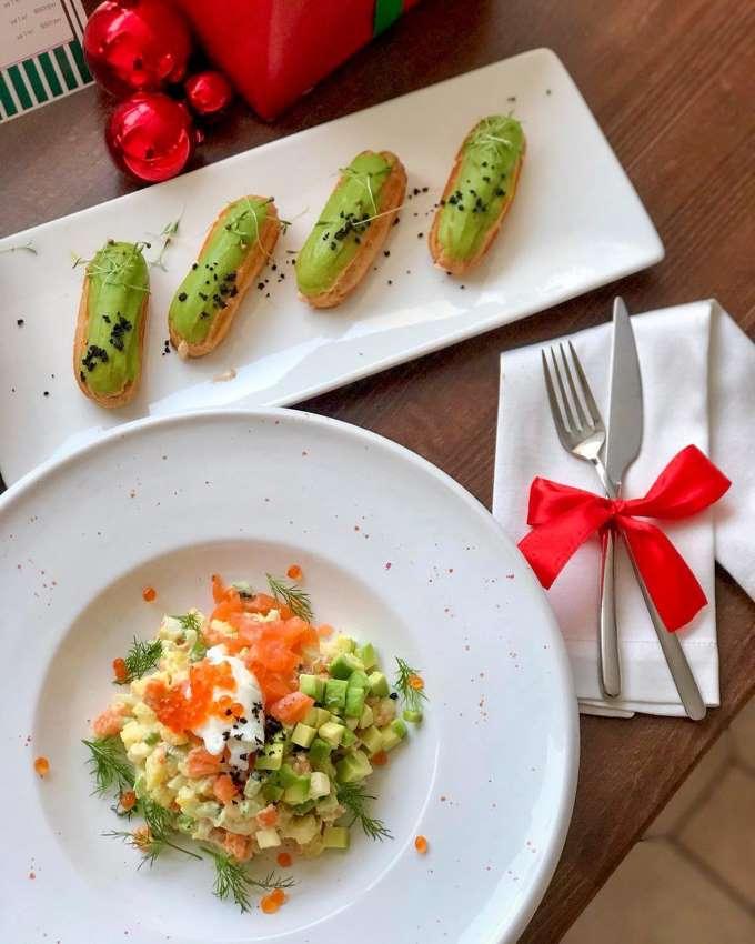 """Рождественское меню от ресторана-кондитерской """"Счастье"""""""