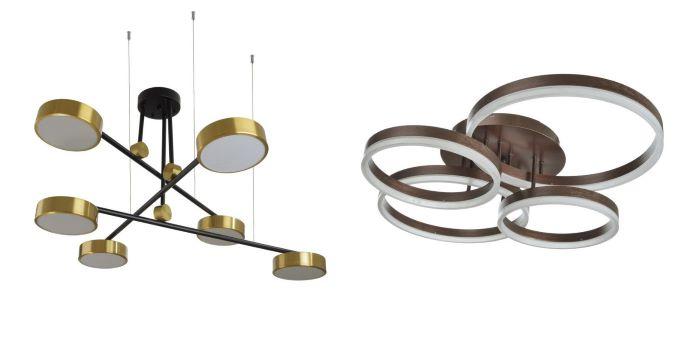 Светодиодные люстры Brille, модный лофт