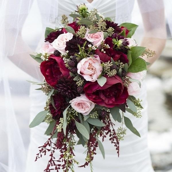Свадебный букет: тренды 2021