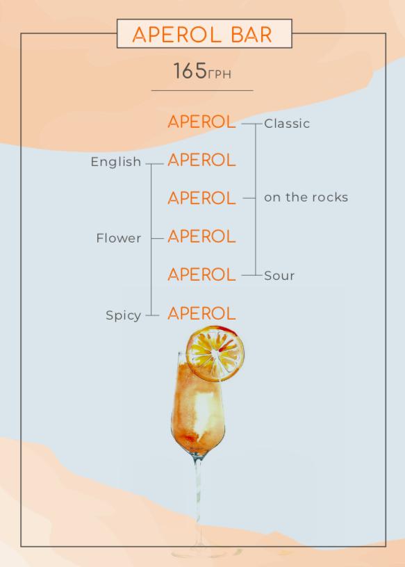 "Aperol""s collection від ""Щастя"""