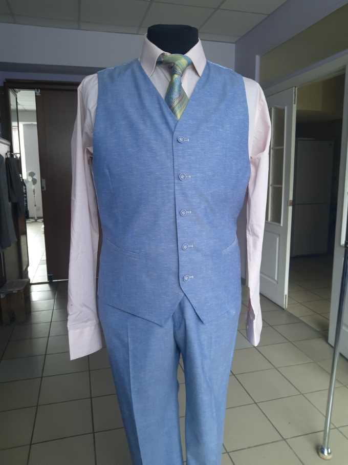 костюм для летней свадьбы